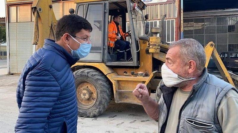 Sanayi esnafından Başkan Özcan'a teşekkür