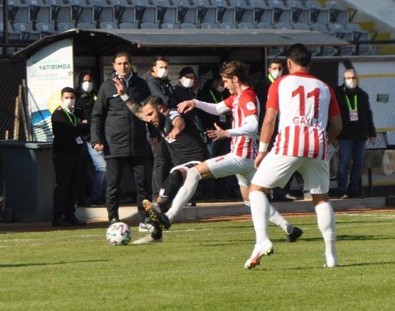 Nazilli, Karaman'ı elinden kaçırdı: 1-1