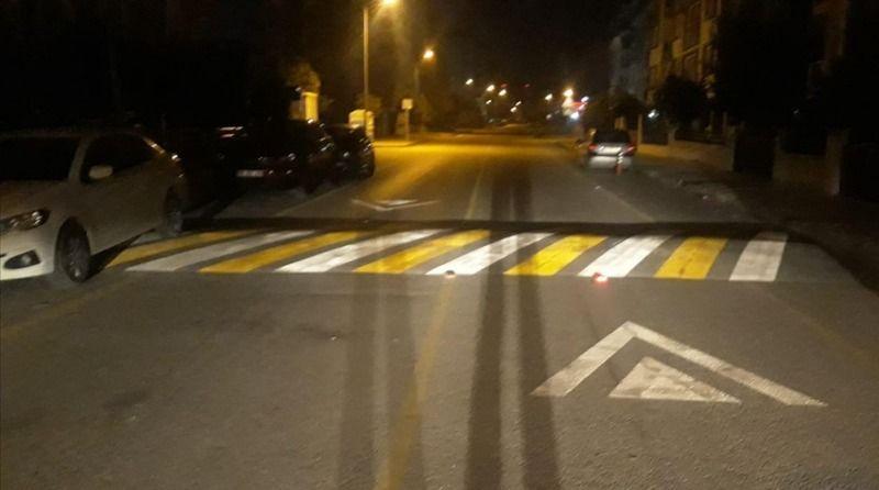 Aydın'da yol güvenliği çalışmaları devam ediyor