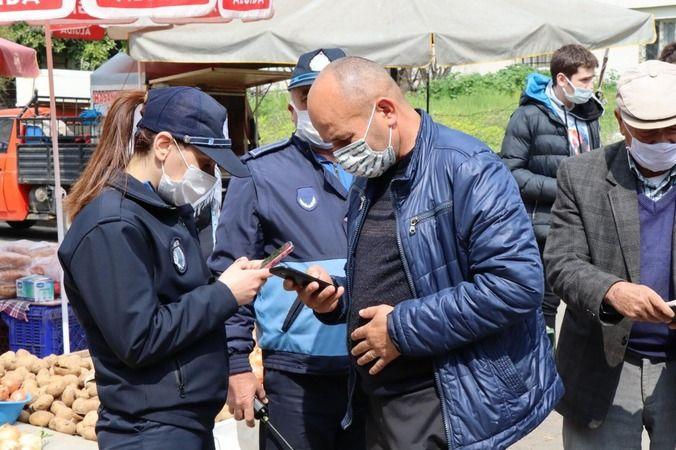 Nazilli Belediye Zabıtası denetimlere devam ediyor
