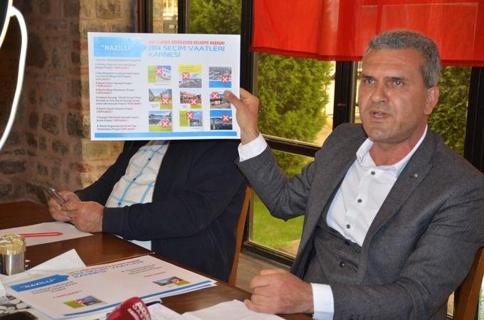 Nazilli'de Cumhur İttifakı, Özcan'ın 2 yılını değerlendirdi