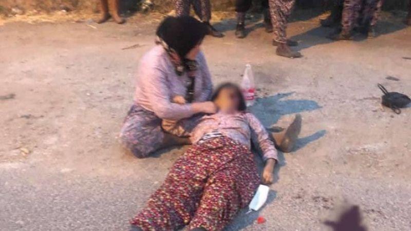Minibüsün çarptığı kadın, hayata tutunamadı