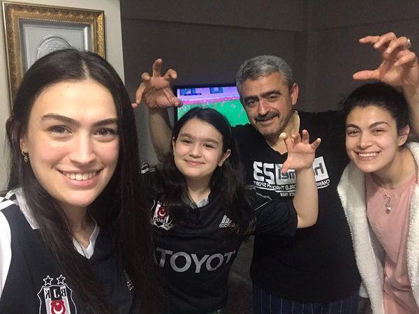 Alıcık, Beşiktaş'ın şampiyonluğunu ailecek kutladı