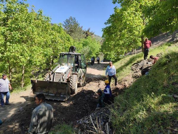 Aydın Büyükşehir, tarımsal sulama hatlarını yeniliyor