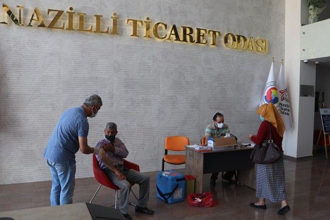 NTO'dan üyelerine aşı desteği