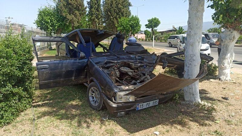 Nazilli'de feci kaza: 1 yaralı