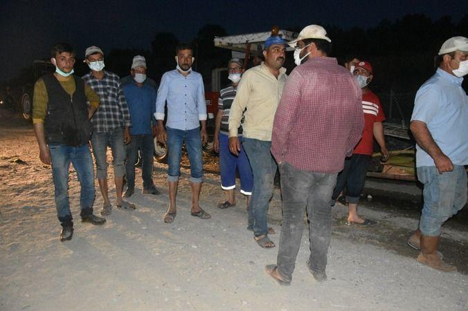 Yenipazar'da çiftçilerin su isyanı