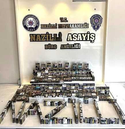 Sigara hırsızı tutuklandı