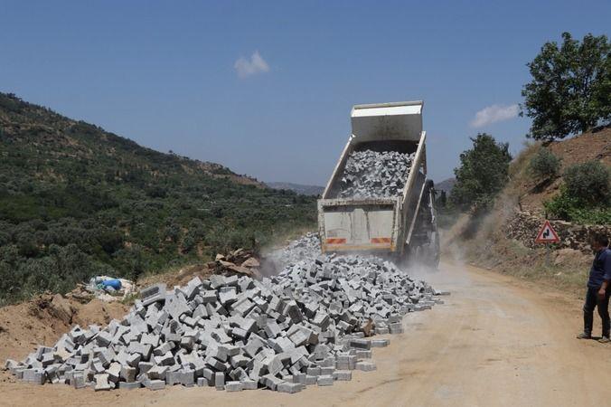 Nazilli Belediyesi bağlantı yollarını tamamlıyor