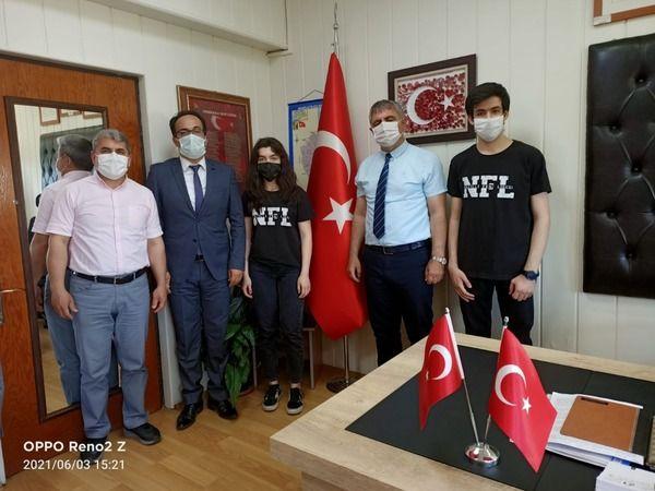 Nazilli Fen Lisesi, Türkiye birincisi oldu