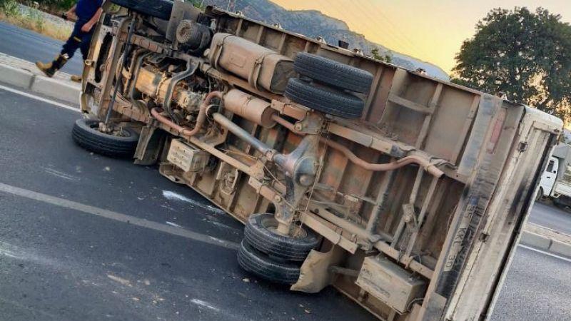 Sultanhisar'da trafik kazası: 2 yaralı