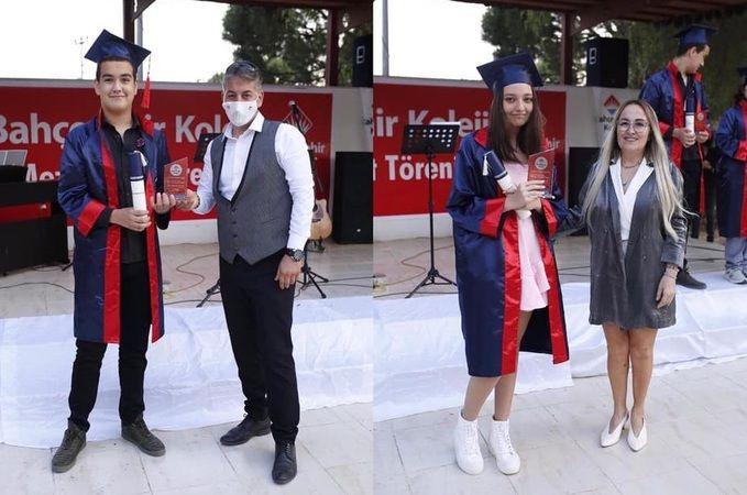 Bahçeşehir Koleji öğrencileri, mezuniyet coşkusu yaşadı