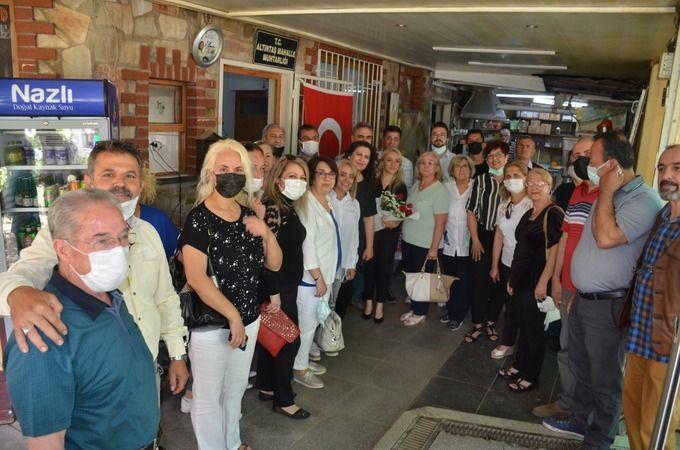 İYİ Parti'den Beşer'e 'hayırlı olsun' ziyareti