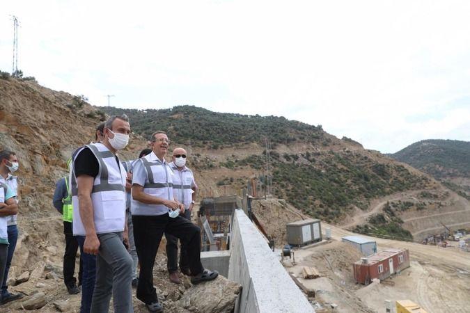 Vali Yardımcısı Günay'dan Sarıçay Barajı'nda inceleme