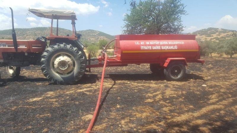 Yangın Söndürme Tankeri faciayı önledi
