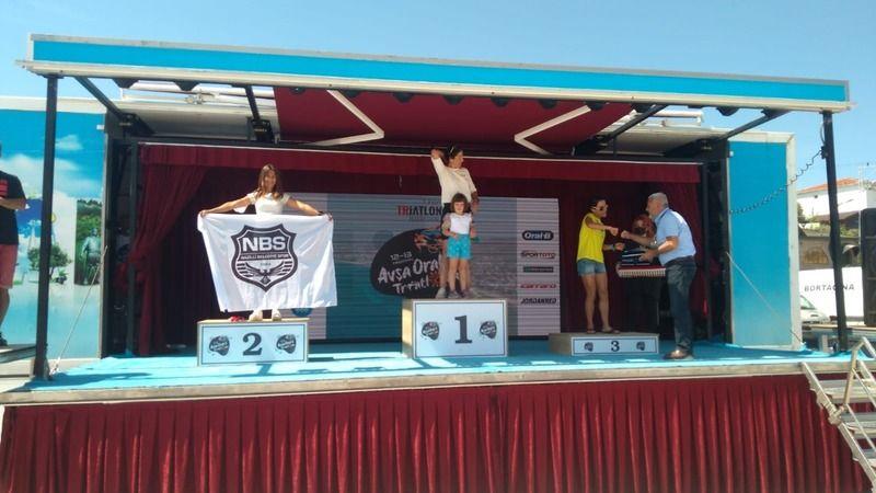 Nazilli Belediyespor, şampiyonadan derecelerle döndü