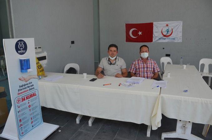 Nazilli'de Aşı Merkezi açıldı