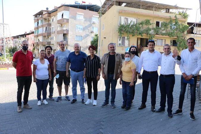 Başkan Alptekin delegelerle buluştu