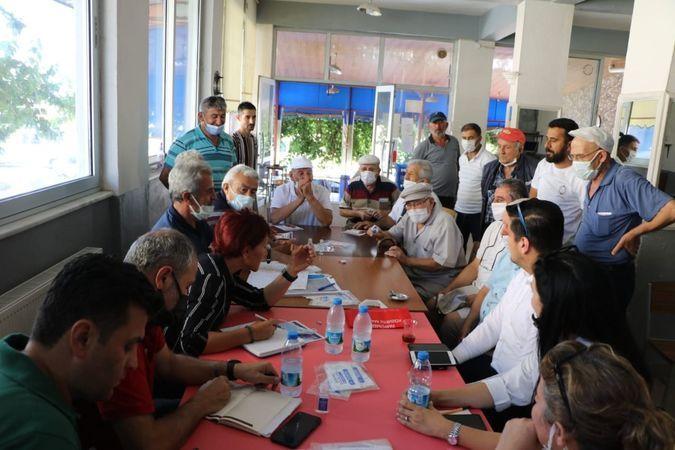 Büyükşehir bürokratları, 240 mahalleyi ziyaret etti