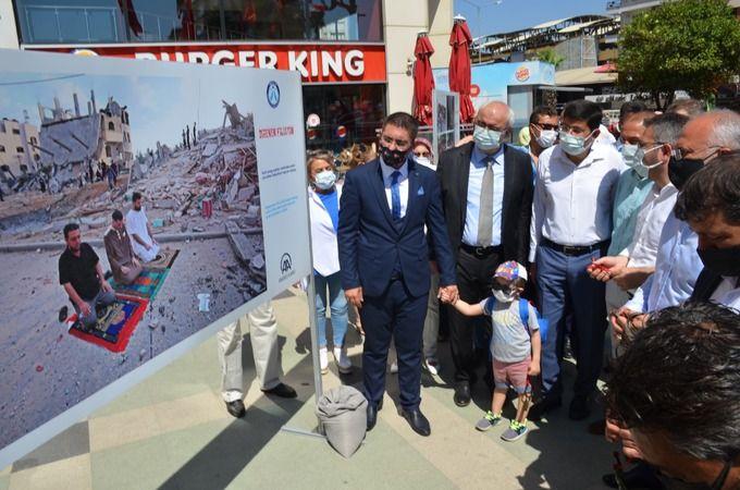Nazilli'de 'Direnen Filistin' sergisi açıldı