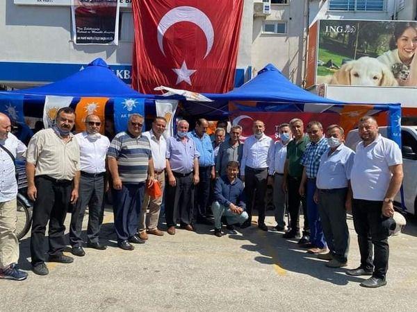 Nazilli AK Parti'den 15 Temmuz için keşkek hayrı