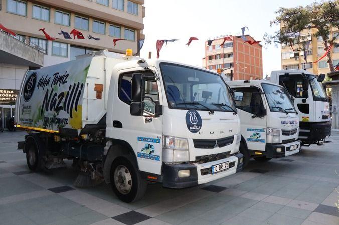 Nazilli Belediyesi araç filosunu güçlendirdi