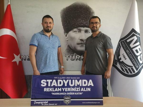 Nazilli Belediyespor'da reklam harekatı