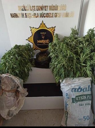 Nazilli Polisi uyuşturucuya geçit vermiyor