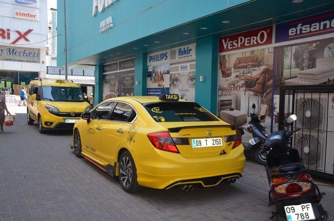 İstasyon Taksi yeni yerinde hizmete başladı