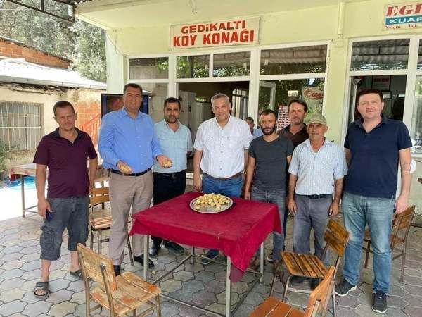 Nazilli'de ilk kuru incir satıldı