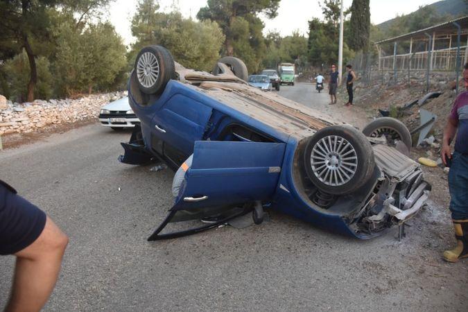 Karacasu'da trafik kazası: 1 yaralı