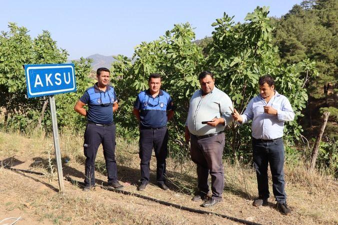 Nazilli Belediyesi kırsalda denetimlere devam ediyor