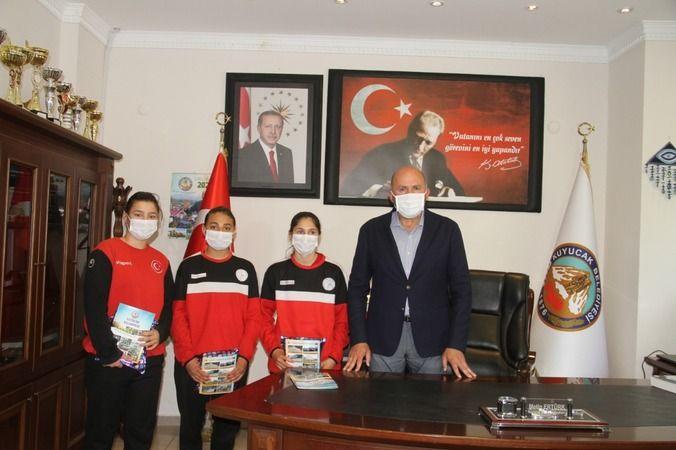 Başkan Ertürk'ün spora desteği başarı getiriyor