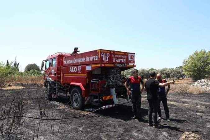 İmamköy'deki yangına jet müdahale