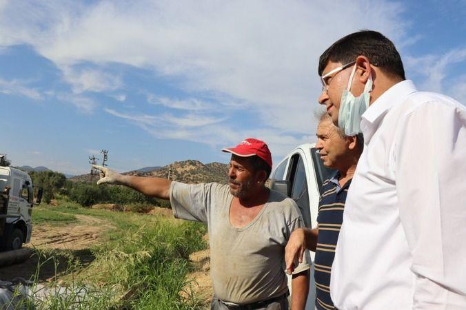 Nazilli Belediyesi'nden çiftçinin yüzünü güldürecek çalışma