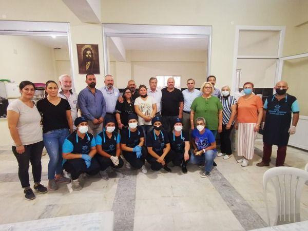 Büyükşehir'den Eğrek Cemevi'nde iftar programı