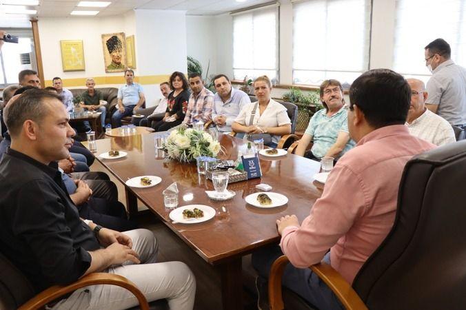 Yaman'dan Başkan Özcan'a övgü dolu sözler