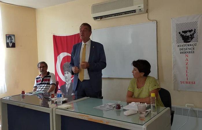 ADD Genel Başkan adayı Bozkurt'tan Nazilli ziyareti