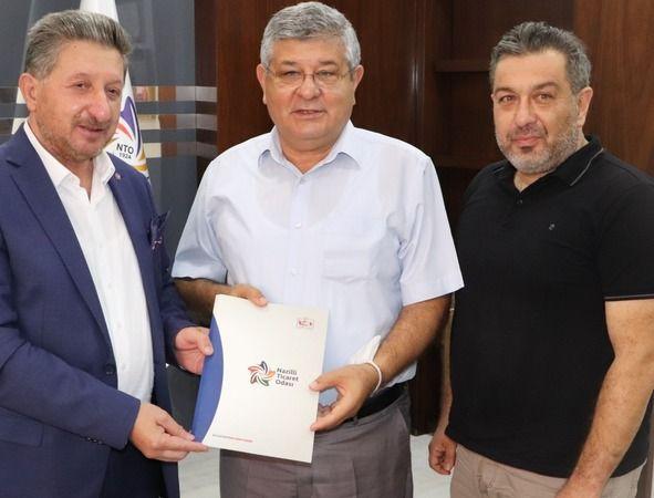 AK Partili Posacı'dan NTO'ya ziyaret