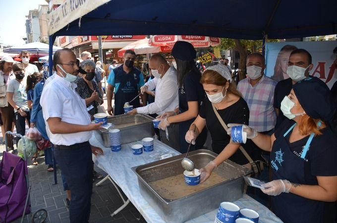 Büyükşehir'den Nazilli'de 2 bin 500 kişilik aşure hayrı