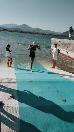 Naz Naz, Eğirdir Triatlonu Türkiye Kupası finallerinde boy gösterdi