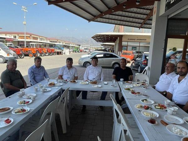 Başkan Özcan, galericiler ile buluştu