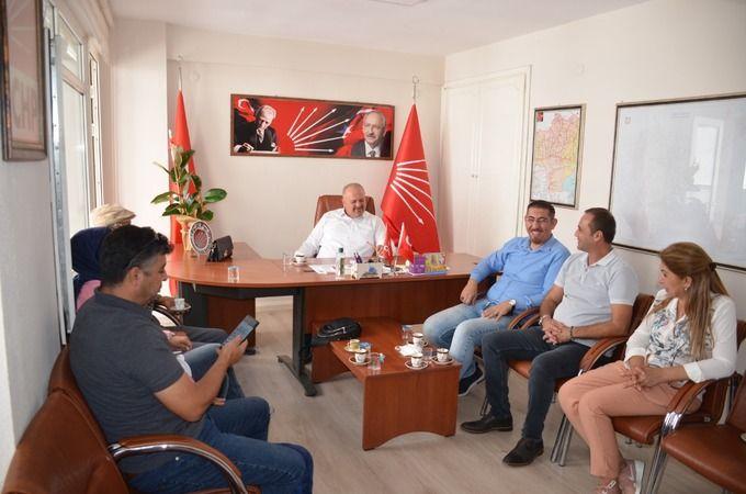 Nazilli CHP Gazetecilerle kahvaltıda buluştu