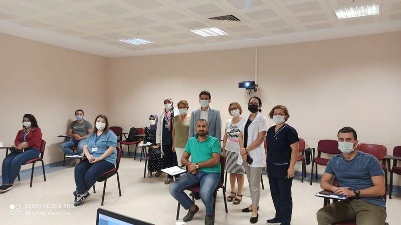 NDH'de 'Yoğun Bakım' kursu başladı
