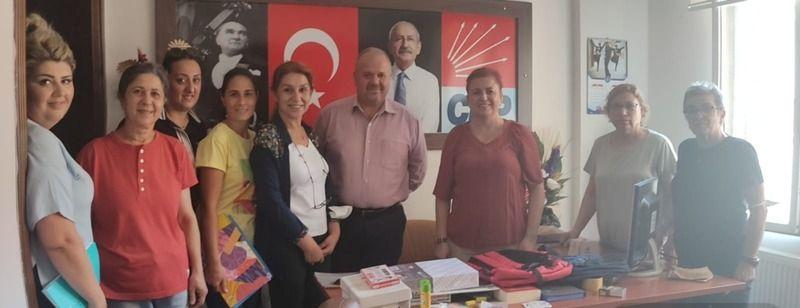 CHP'li kadınlardan eğitime tam destek