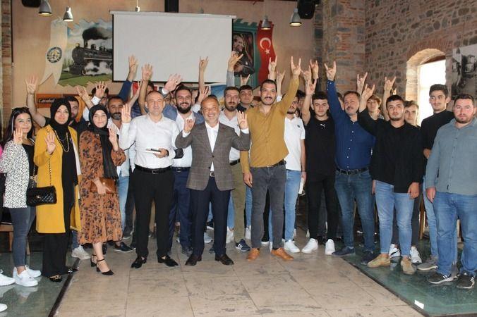 Milletvekili Yavuz, Nazilli'de gençlerle buluştu
