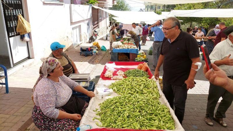 Bülbül, Bozdoğan'da üreticilerle ve vatandaşlarla bir araya geldi