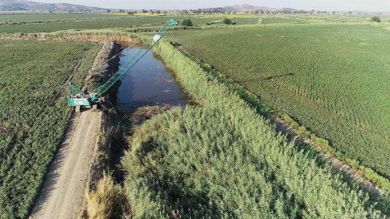 Söke'de tarım arazileri taşkınlardan korunacak