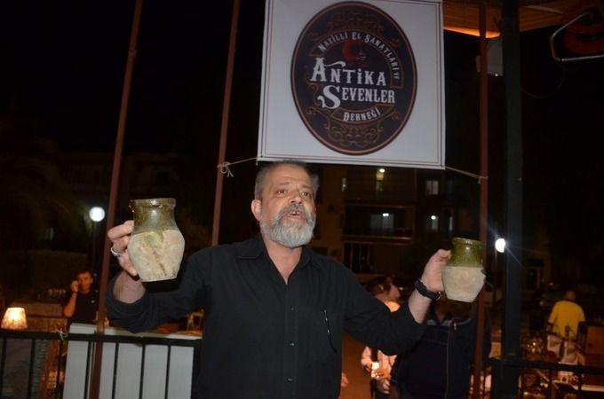 Nazilli'de antikacılar mezatta buluştu