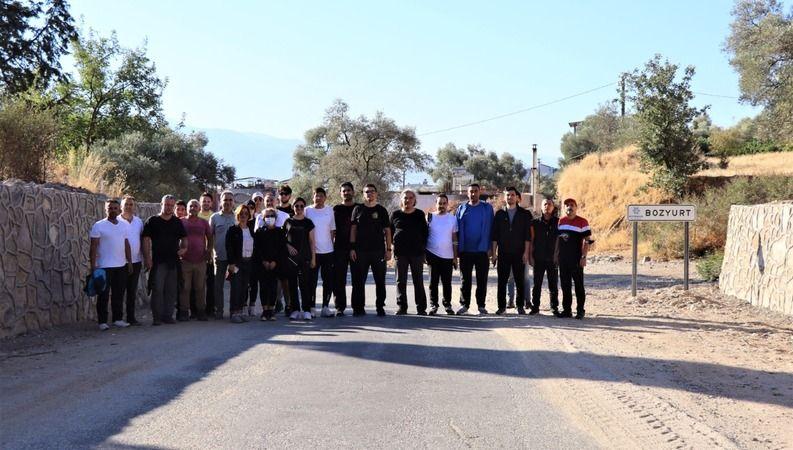 Başkan Özcan, doğa yürüyüşüne katıldı